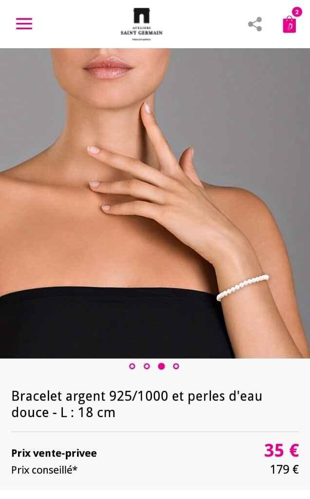 Vente privée a encore frappé!! mon collier et mon bracelet ! - 2
