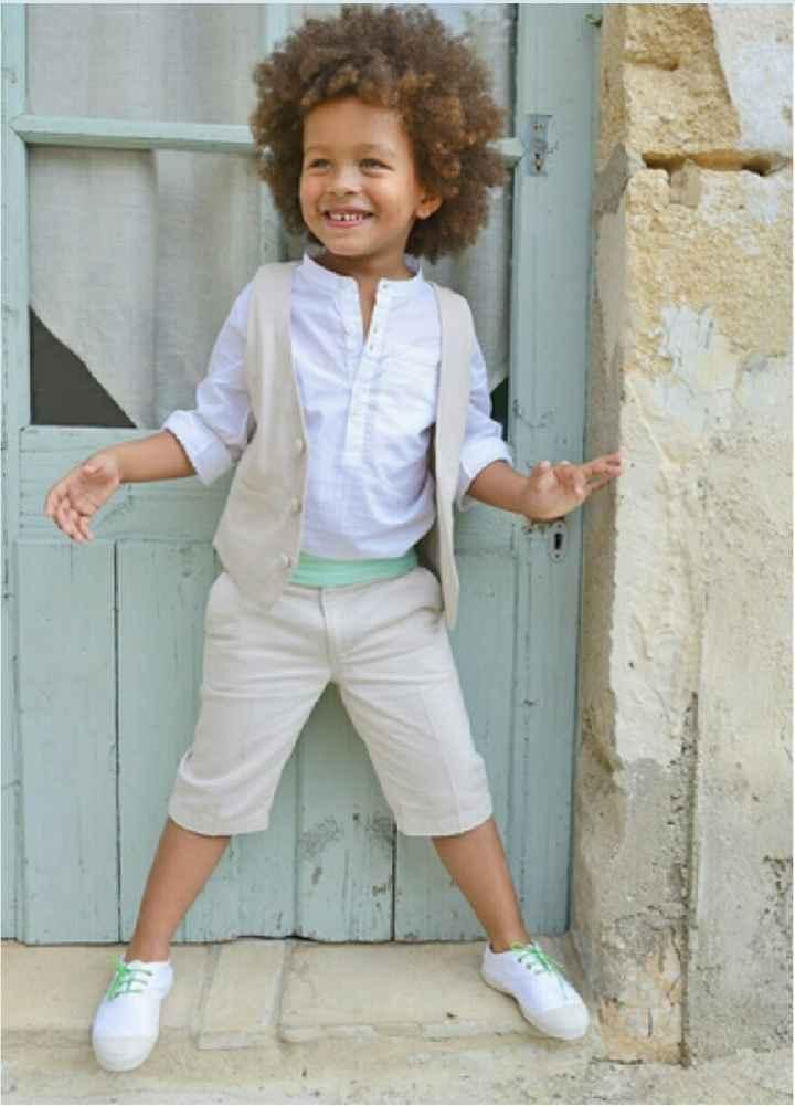 Quelles chaussures avec le costume de mon fils? - 1