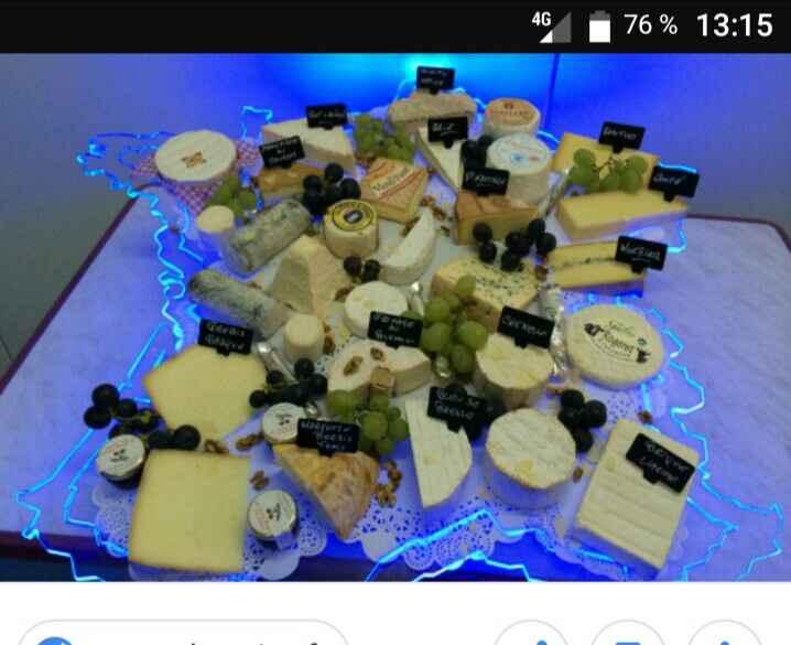 Buffet de fromages - 1