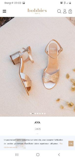 Chaussures Mariée 👠👠👠 1