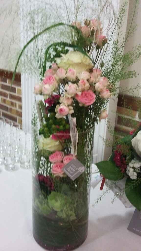 Bouquet gypsophile ruban - 2