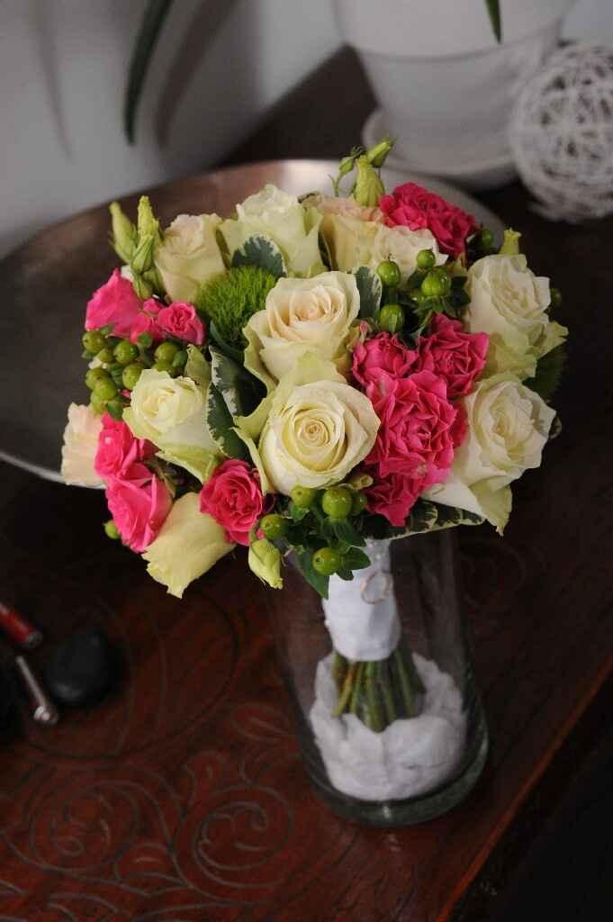 Bouquet gypsophile ruban - 4