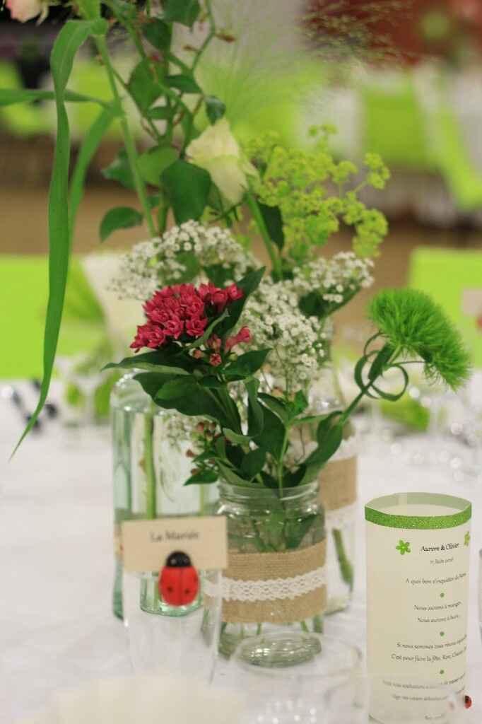 Bouquet gypsophile ruban - 7