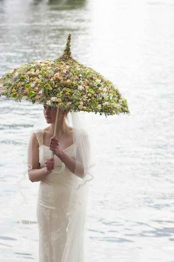 Ombrelle fleurie - 3