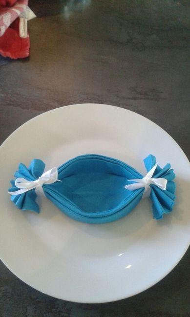 Pliage serviettes en bonbon besoin de votre aide d coration forum - Pliage serviette bonbon ...