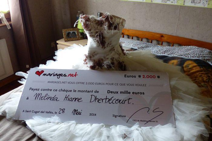 Gain 2000euros