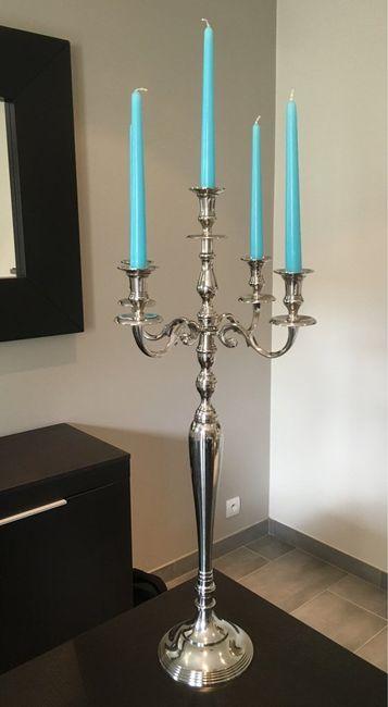 Hauteur chandeliers?? - 1