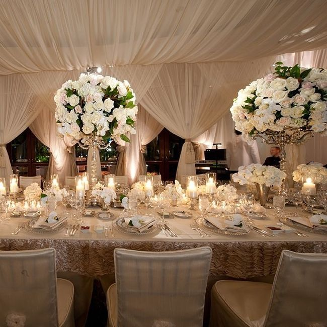 Elegant Wedding Reception Decoration: Organisation Du Mariage
