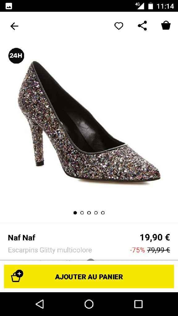 Chaussures cendrillon - 1