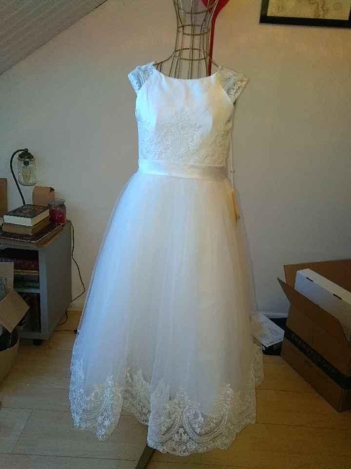 La robe de ma petite demoiselle d'honneur ♥️ - 1
