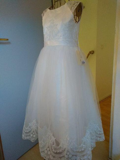La robe de ma petite demoiselle d'honneur ♥️ - 2