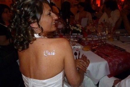 Tatouage Oui En Strass Beaute Forum Mariages Net