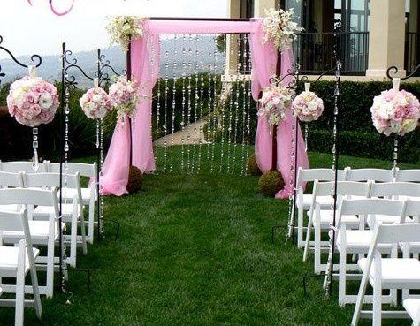 D co de l 39 entr e de la salle d coration forum - Decoration de mariage exterieur ...