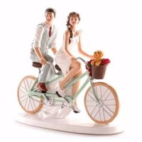 topper cake vélo