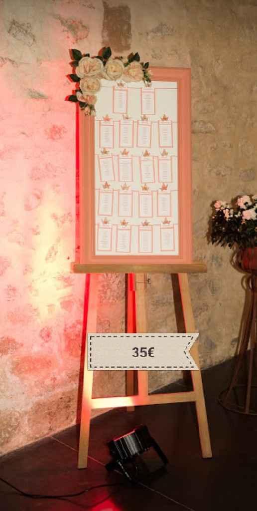Vente de décoration et flûtes - 2