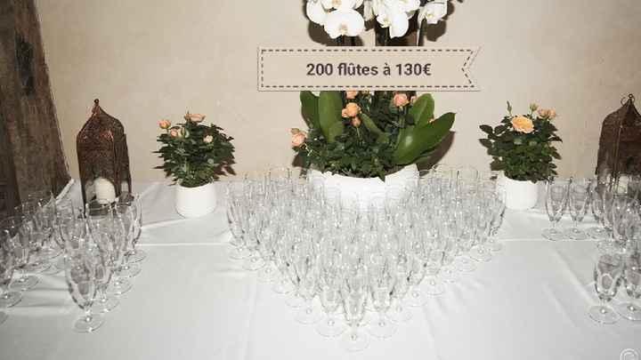 Vente de décoration et flûtes - 4