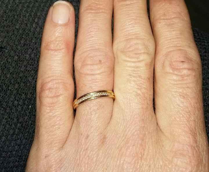 Avez-vous deux bagues : mariage & fiancailles ? - 1