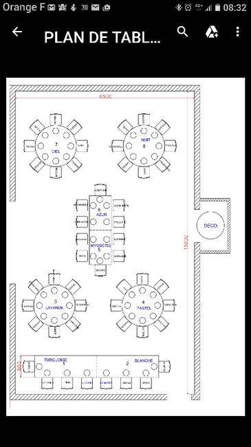 disposition table pour petit mariage organisation du mariage forum. Black Bedroom Furniture Sets. Home Design Ideas