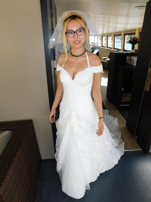 J'ai revu mon eps de la robe de ma Vie sur m6 9