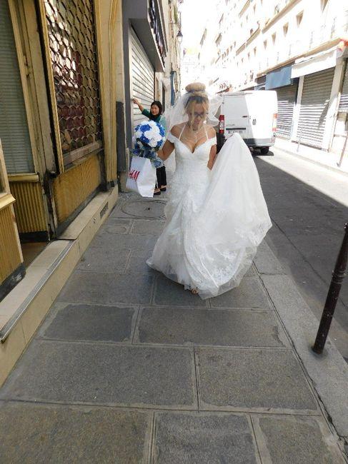 J'ai revu mon eps de la robe de ma Vie sur m6 19
