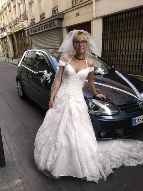 J'ai revu mon eps de la robe de ma Vie sur m6 21