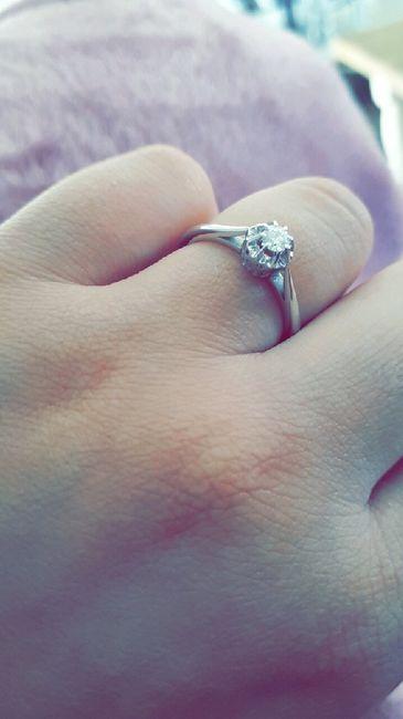 Montrez-nous vos bagues de fiançailles 💍 15