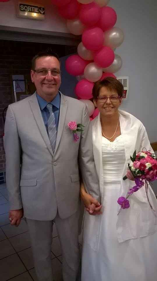 Notre mariage ce 16 mai 2015