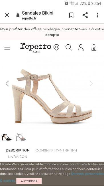 Chaussures de mariée 2