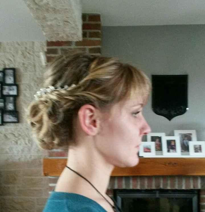 Mes essais coiffure! besoin avis! - 2