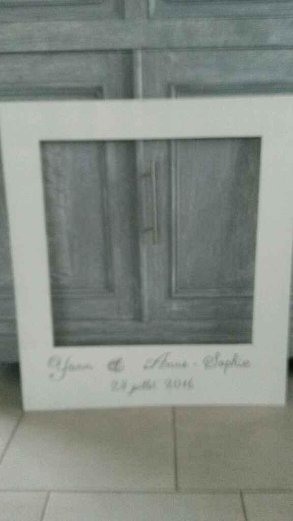 Diy cadre photobooth vin d'honneur - 1