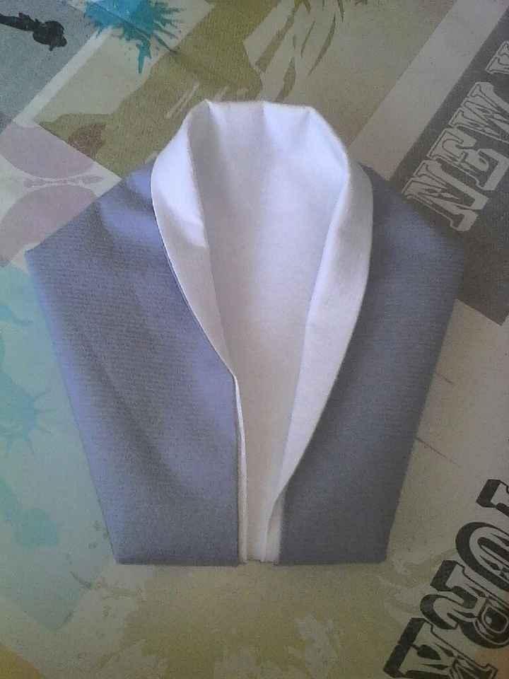 Premier essai pliage serviette - 1