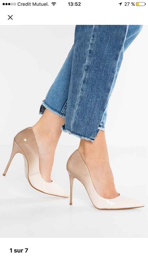 Chaussure et voile pour robe ivoire - 3
