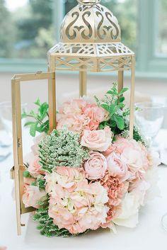 Decoration rose & gold - 1