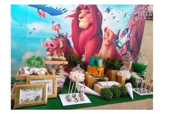 Help décor table roi lion 6