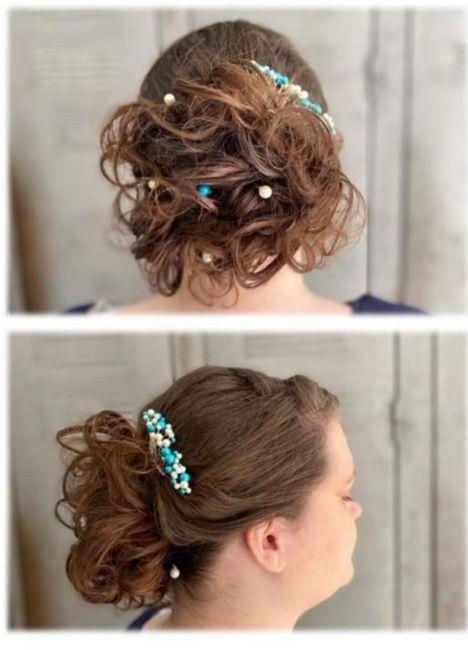Longueur cheveux & chignon 7