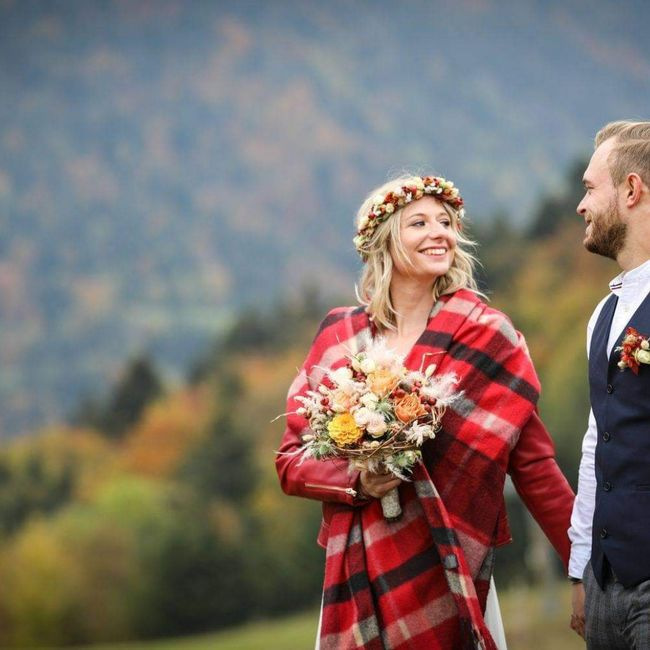 Robe mariage civil hiver 5
