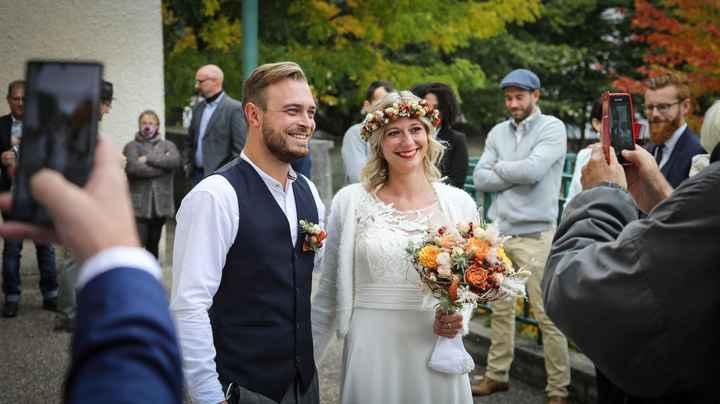 Notre mariage civil du 17 octobre en petit comité - 1