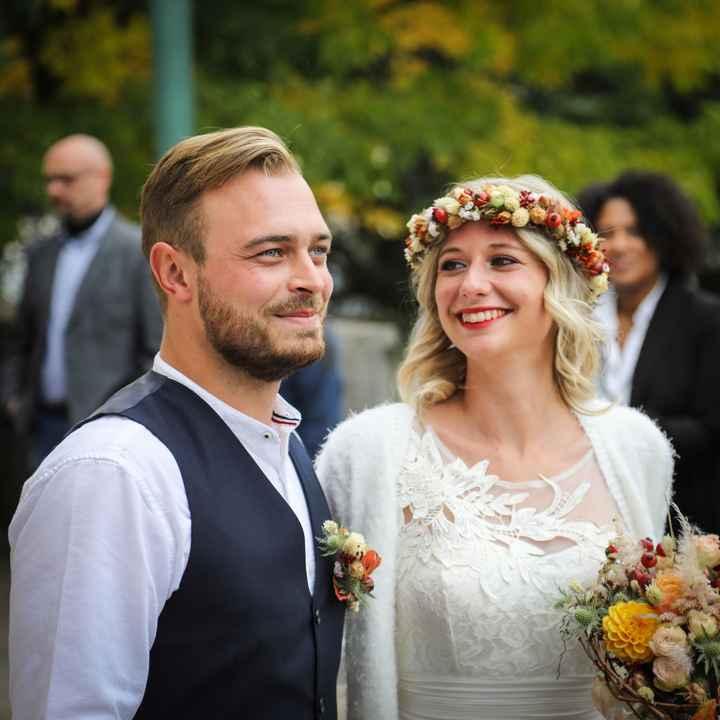 Notre mariage civil du 17 octobre en petit comité - 2