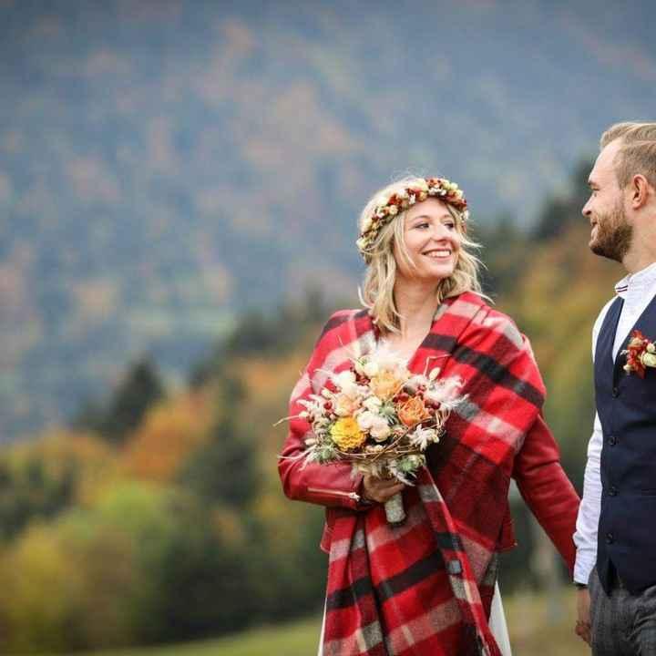 Robe mariage civil hiver - 2