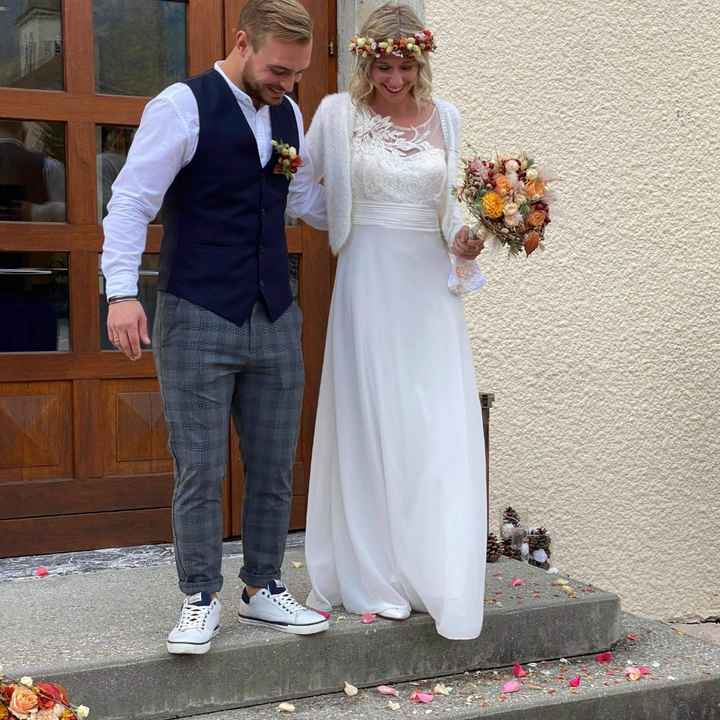 Robe mariage civil hiver - 3