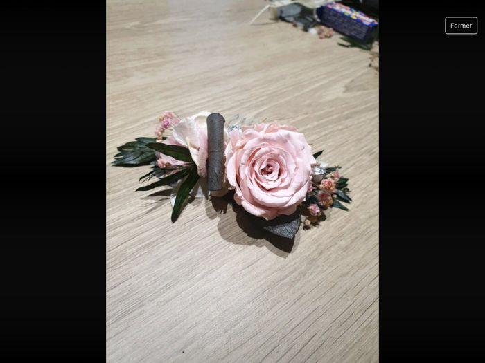 Couronne de fleurs pour la mariée 3
