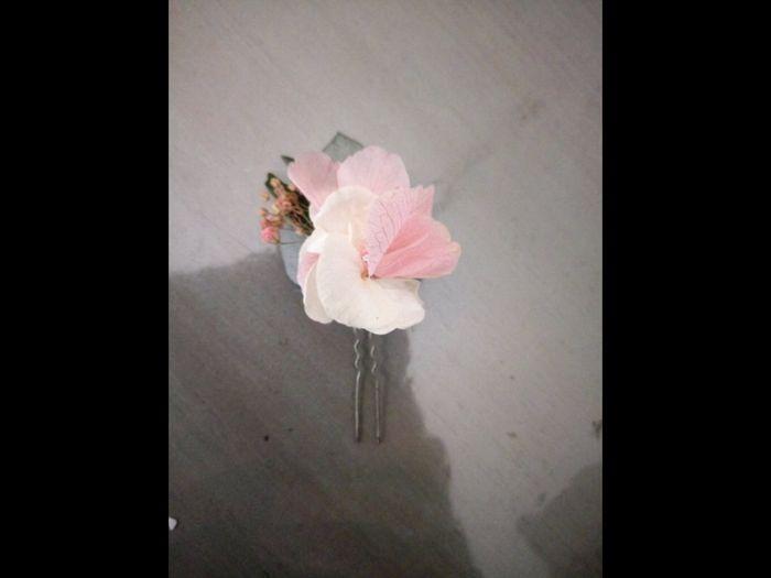 Couronne de fleurs pour la mariée 4