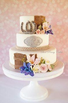Recherche idées de décos pour la table des gâteaux sur le thème des chevaux. 12