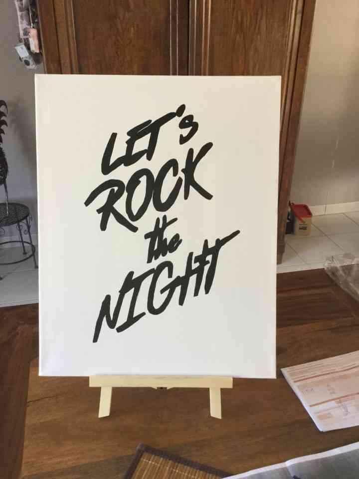 Déco thème rock - 2