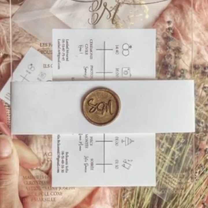 Carte invitation - 1