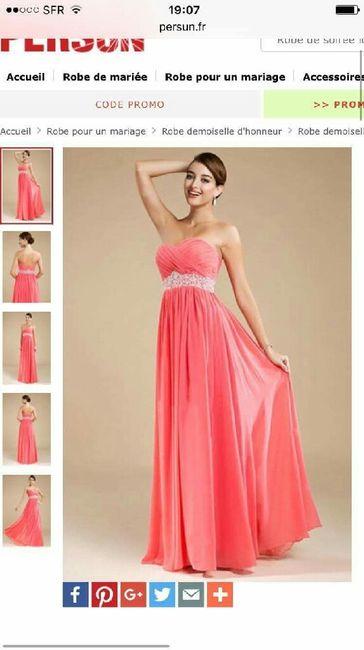 A y est j 39 ai trouv le style de robe pour mes for Robes de demoiselle d honneur pour les mariages de novembre