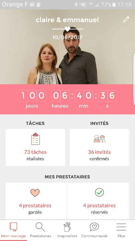 100 jours - 1