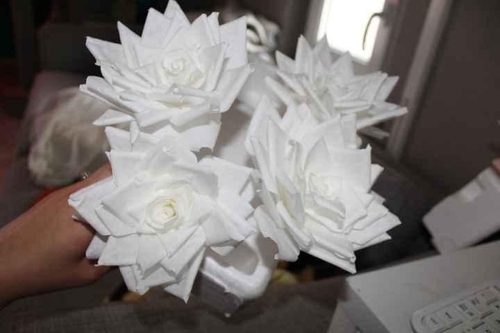 mes fleurs en filtres à café