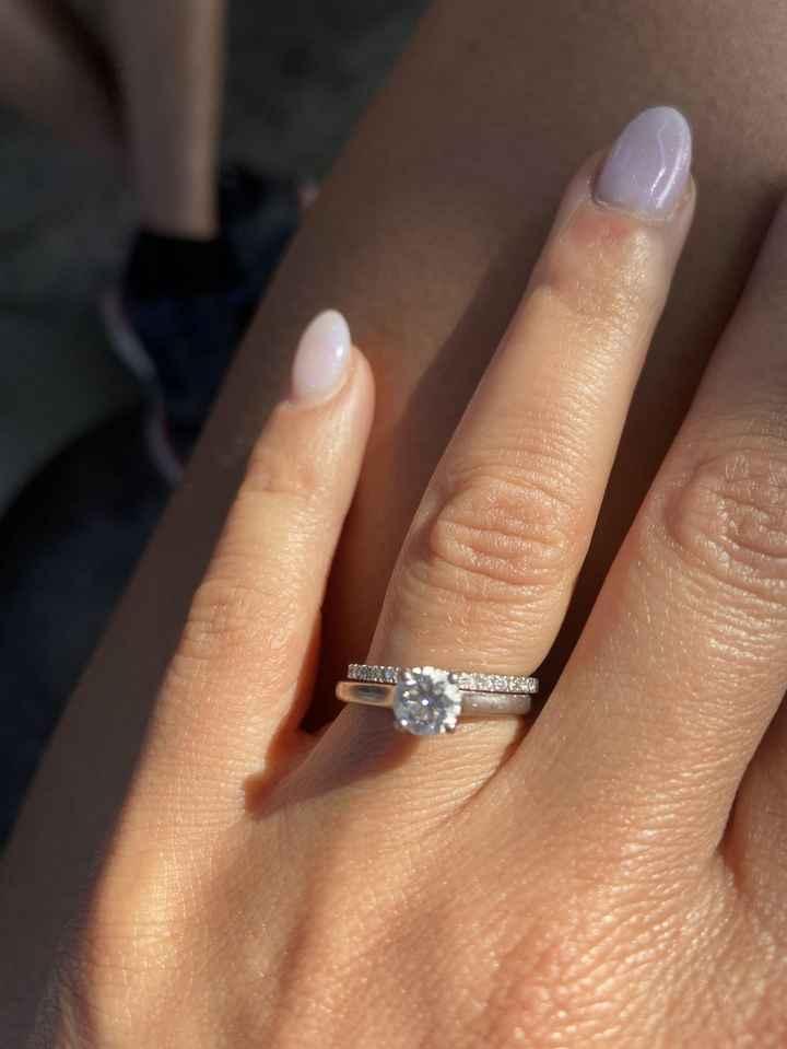 Montre-nous ta bague de fiançailles ! 💍 - 1