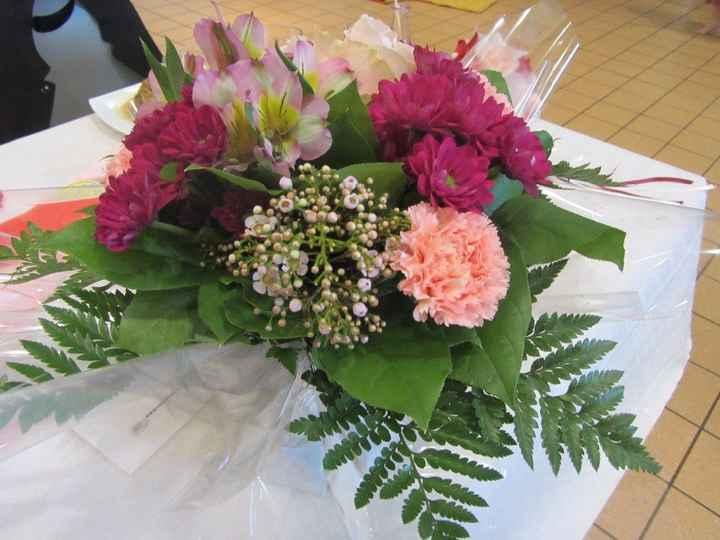 Bouquet de la part de ma marraine